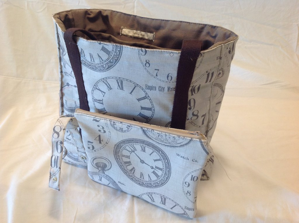 Graziosa borsa in stoffa comodissima