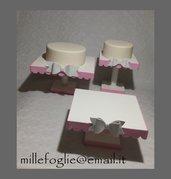 3 Alzate per torte e dolci Compleanno,Battesimo,Comunione,Cresima,Matrimonio...
