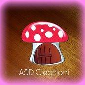 invito bosco incantato fungo