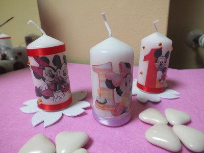 candele segnaposto  personalizzabili