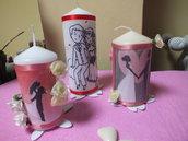 candela bomboniera personalizzabili