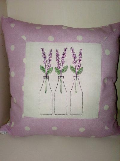 Cuscino divano lavender