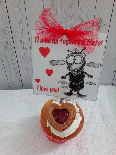 Biglietto d'auguri San Valentino: Formica innamorata