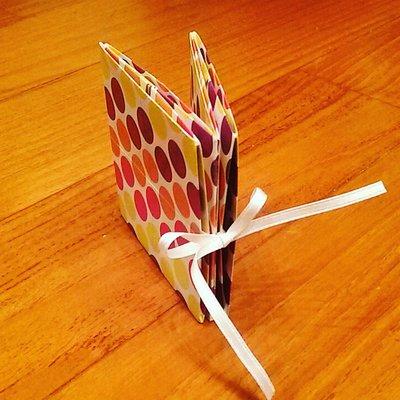 Mini album origami portafoto
