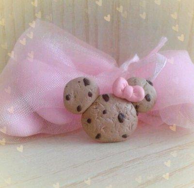 Bomboniera biscotto in fimo nascita battesimo comunione cresima
