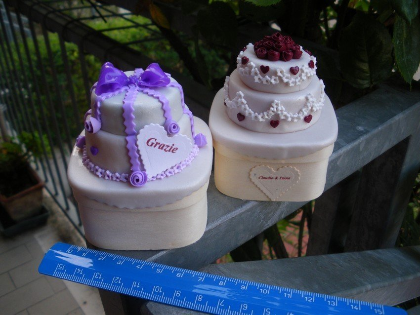 wedding cakes personalizzate