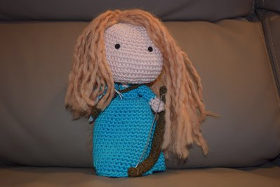 RIBELLE THE BRAVE AMIGURUMI