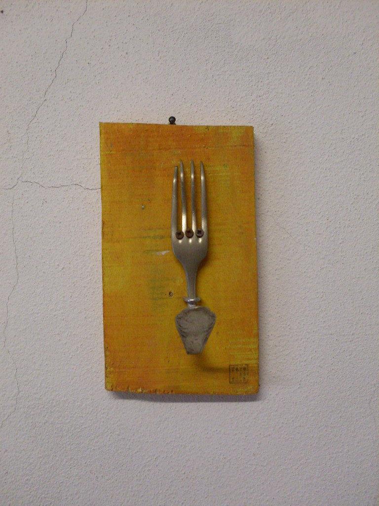 attaccapanni creato con forchetta