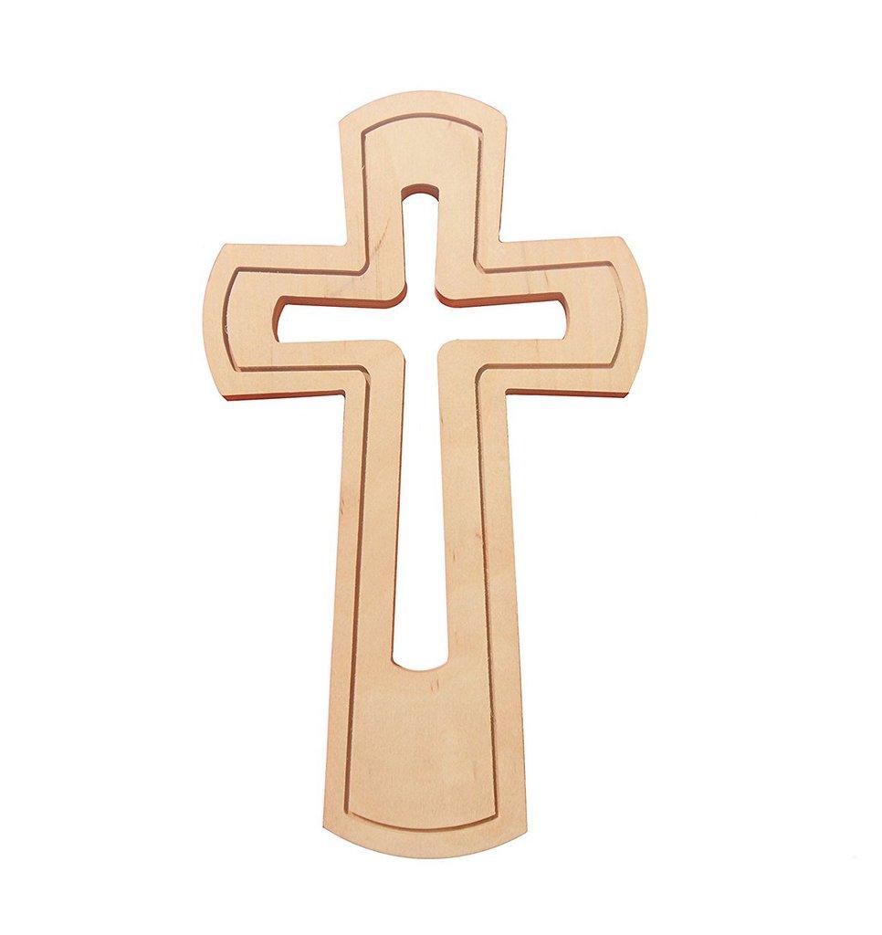 Croce in legno multistrato betulla