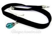 Choker necklace con pendente