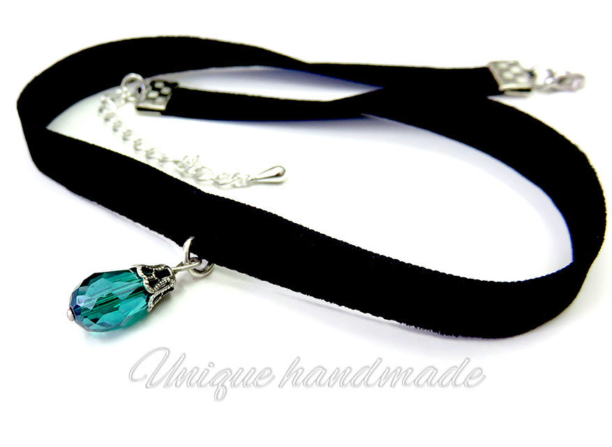 Choker necklace con pendente