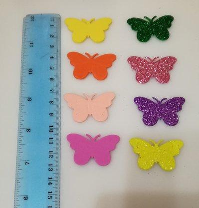 Fustellati farfalle gomma.crepla