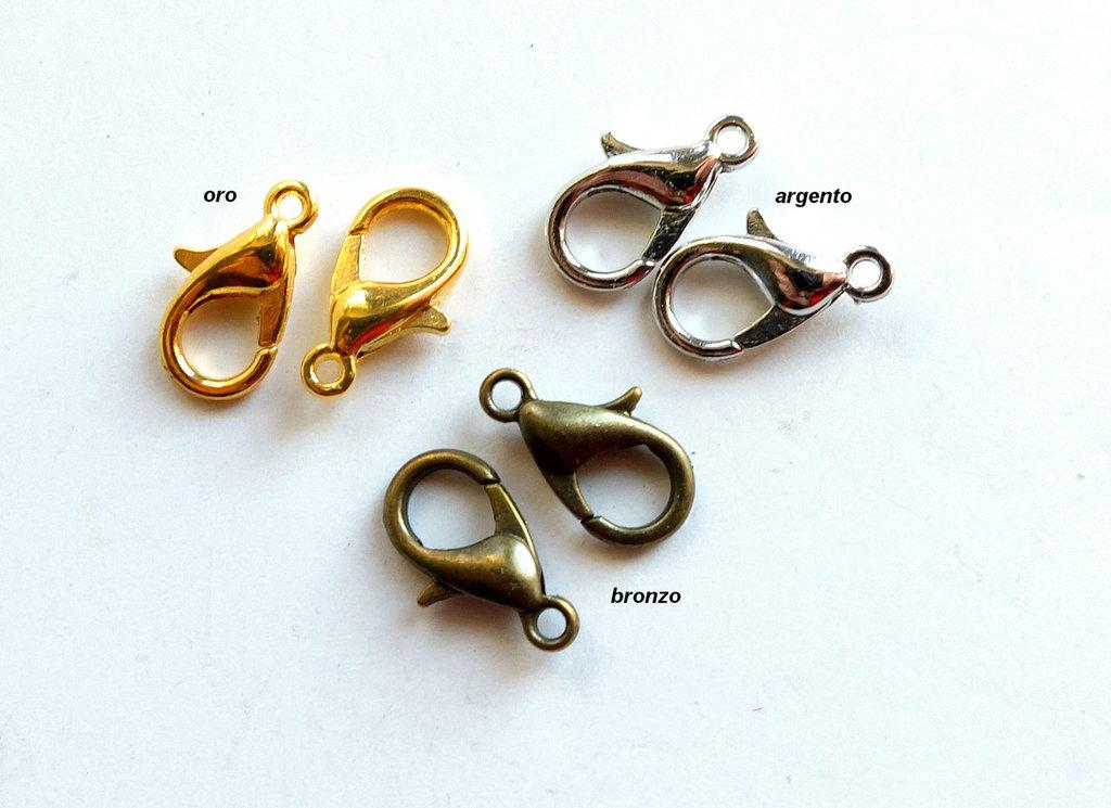 5 Chiusure per collane e braccialetti   FER37-35-41