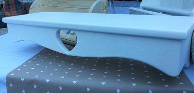 Mensola a scomparsa stile shabby chic in legno