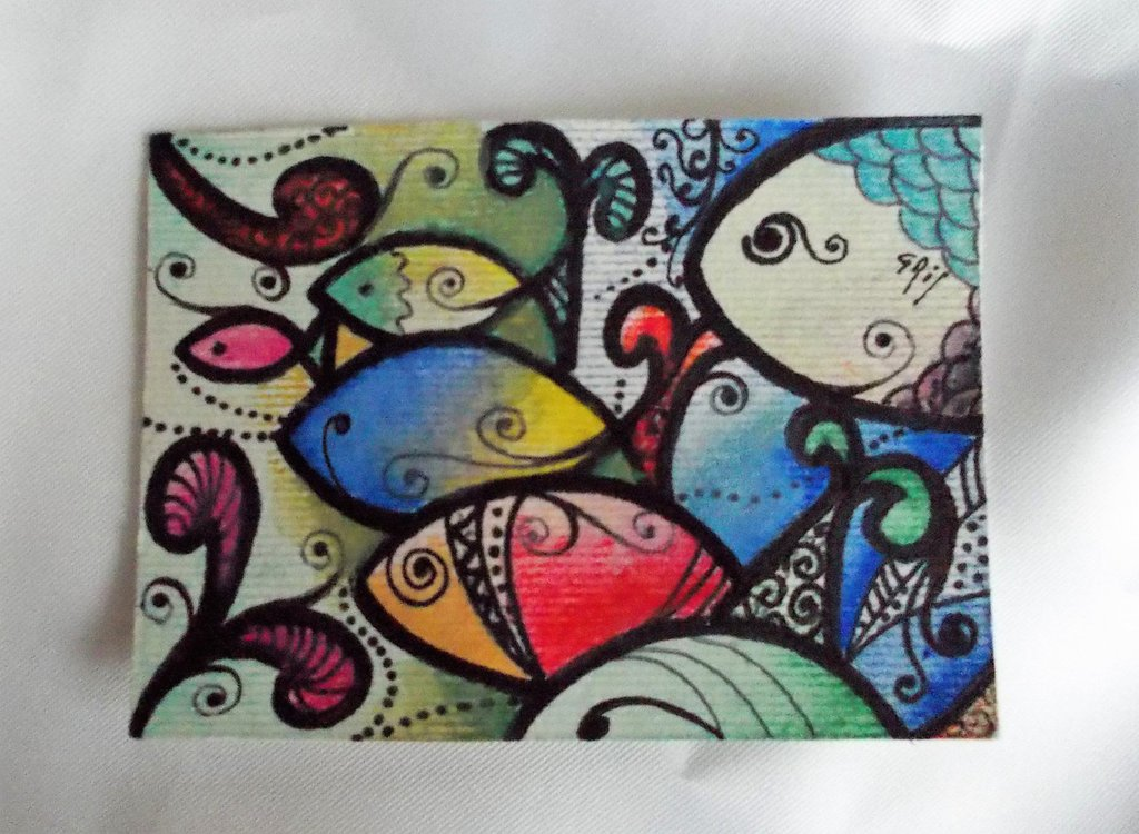 ACEO  Art Card