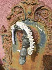 Cerchietto floreale per  Comunione