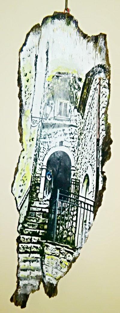 Quadro, vialetto di Bagnoli del Trigno