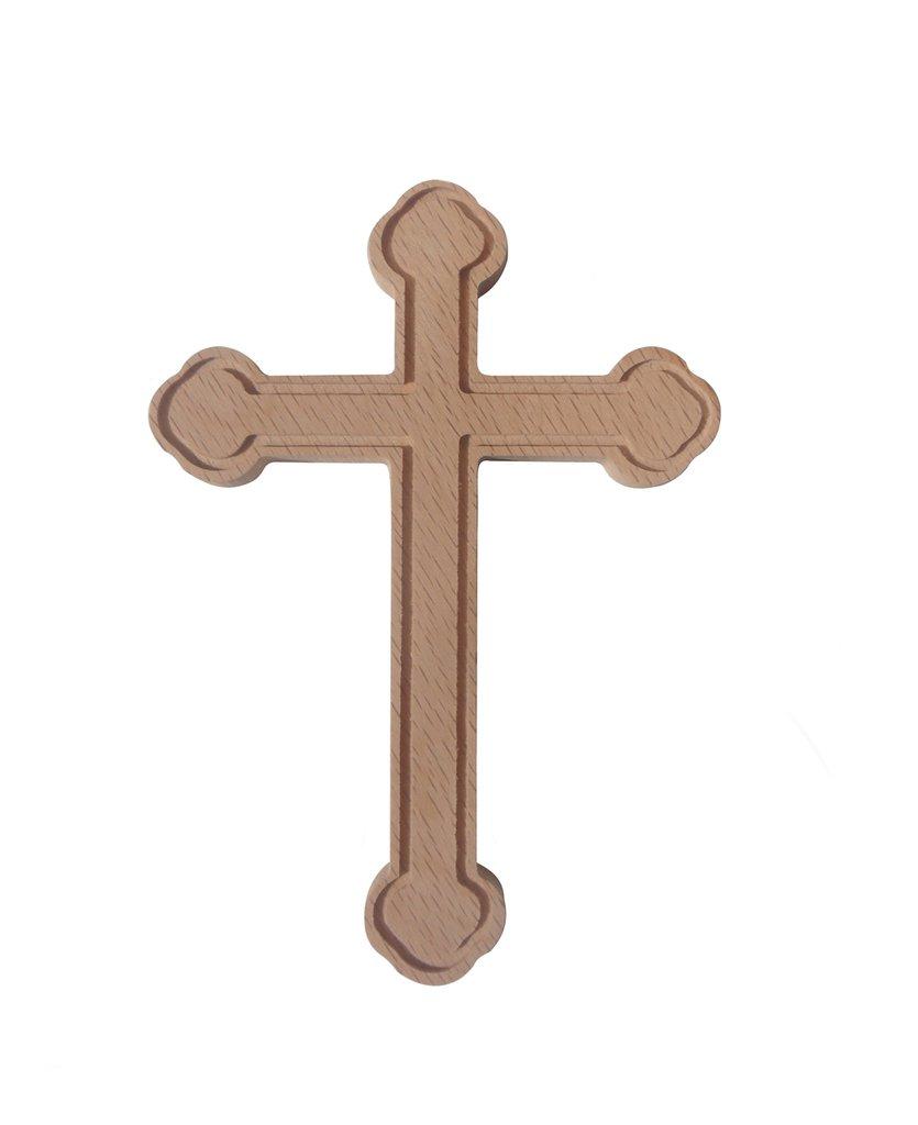 Croce in legno di faggio