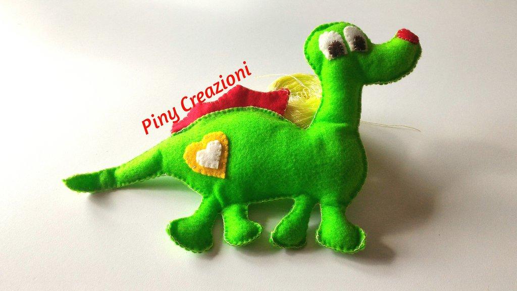 Peluche pupazzo Draghetto verde scacciapaura