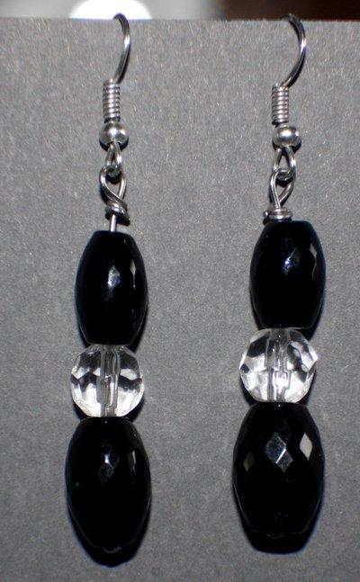 orecchini neri