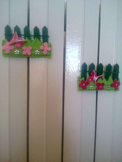 Magneti decorativi siepe