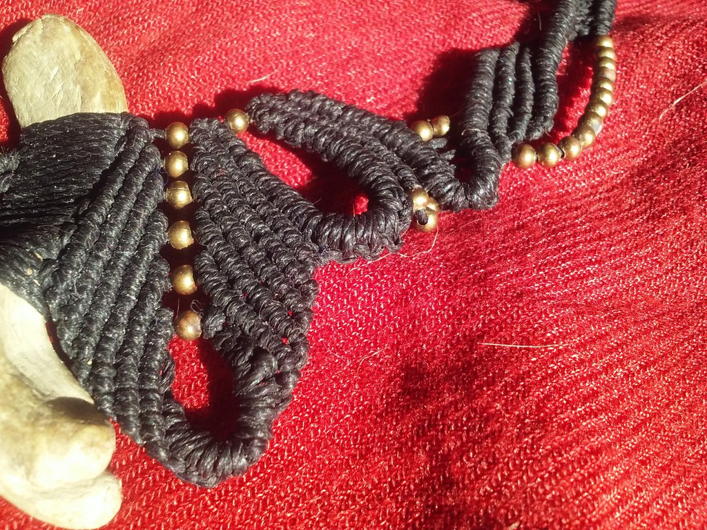 Collana Black butterfly