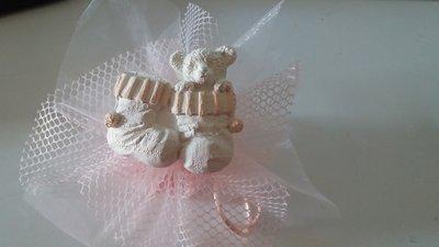 bomboniera nascita battesimo orsetto con calzino bimbo