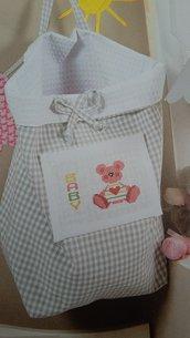 Sacca Porta oggetti, Porta pigiama- porta pannolini bimbi