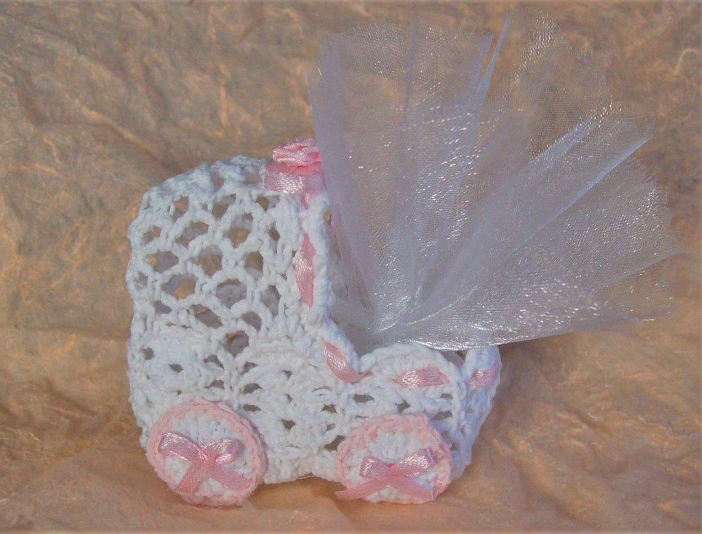Culletta portaconfetti per una femminuccia