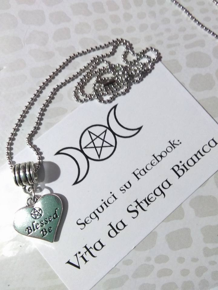 "collana ""BLESSED BE"""