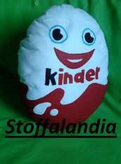 CUSCINO KINDER OVETTO IDEA REGALO