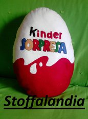 CUSCINO KINDER SORPRESA IDEA REGALO