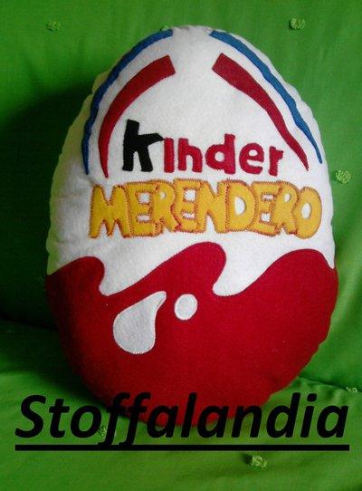 CUSCINO KINDER MERENDERO IDEA REGALO