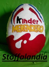 CUSCINO KINDER MERENDERO IDEA REGALO