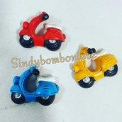 Vespe magnete coloratissime bomboniereFAI DA TE per confezioni su torta ,sacchetto plexiglass.