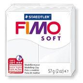 NUOVI ARRIVI! 1 panetto FIMO SOFT color BIANCO n° 0  (57 gr)