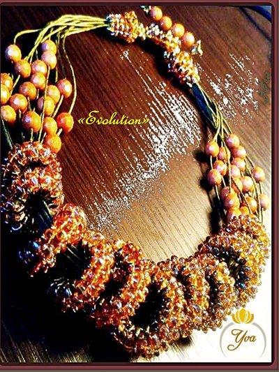 """"""" Evolution """" necklace"""