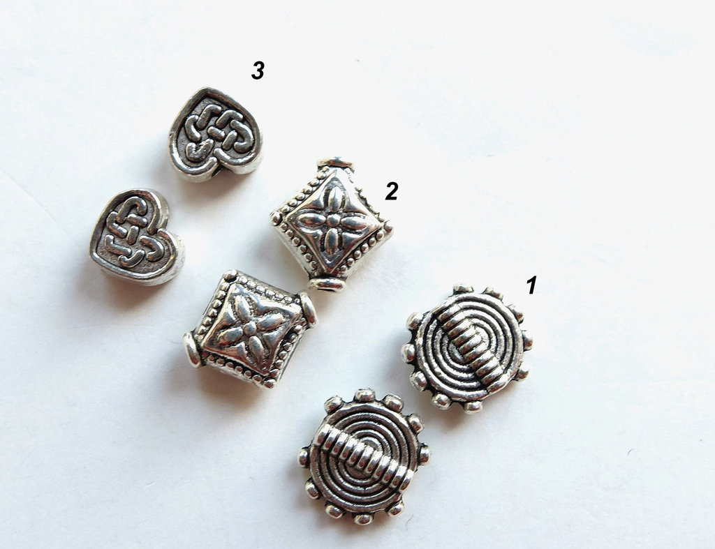 10  Distanziatori in argento tibetano  DIS2-6-8