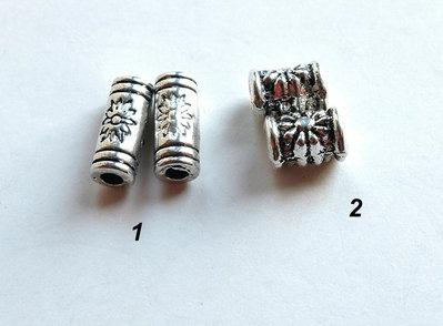 10  Distanziatori in argento tibetano   DIS4-15