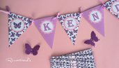 Banner Bandierine per decorare by Romaticads