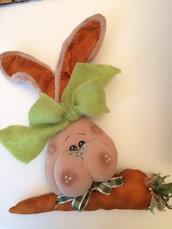 Buffo coniglio da appendere x festa Pasqua