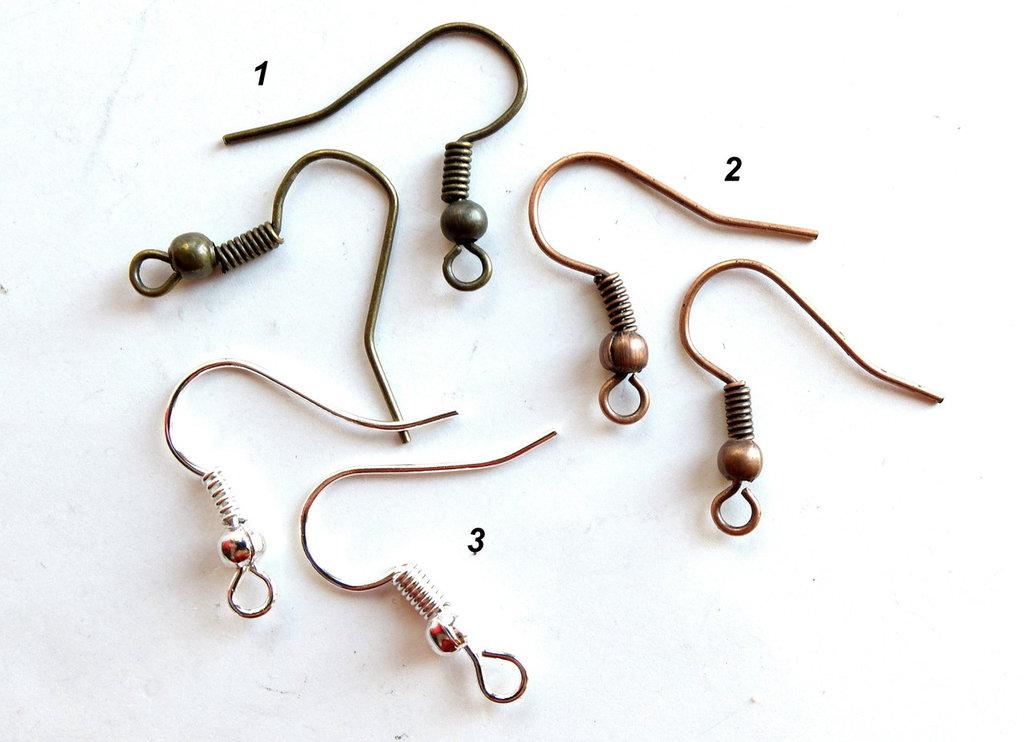 20 Monachelle  per orecchini   FER19-18-21