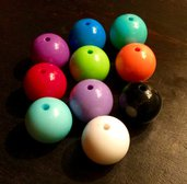 Grandi perle colorate