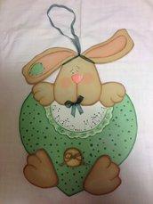 Fiocco coniglietto nascita