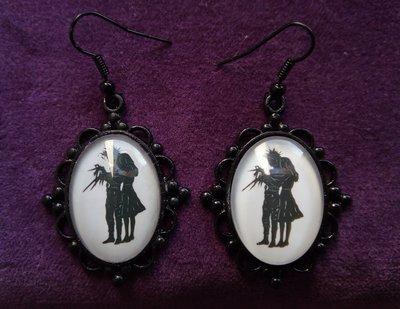 *Orecchini di Edward Mani di Forbice e Kim - Edward Scissorhands earrings*