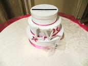 Torta portabuste per matrimonio
