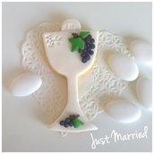 biscotto decorato, calice, prima comunione