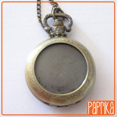 Orologio con base per cameo 25mm