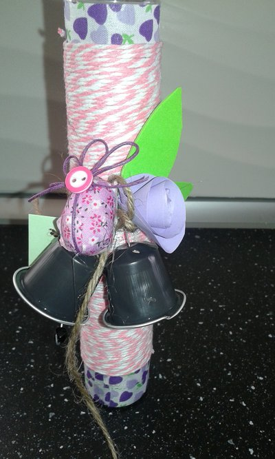 Vaso sottile porta fiori/decoro pasquali