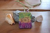 Ciondolo linea Eco-Yogica - Mandala colorato